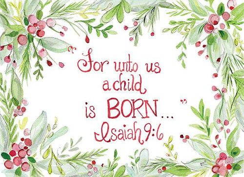 For Unto Us a Child is Born… Cards