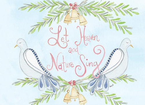 Let Heaven & Nature Sing Cards