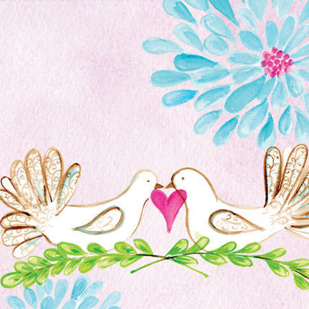 Wedding Doves Gift Tags