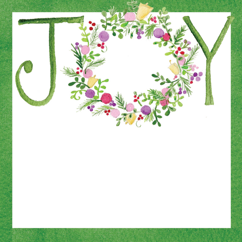 Joy Wreath Gift Tags