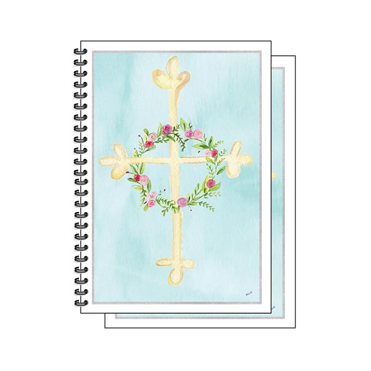 Floral Cross Complete Gift Set