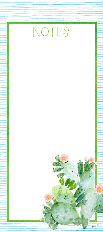 Cactus Notes Notepad