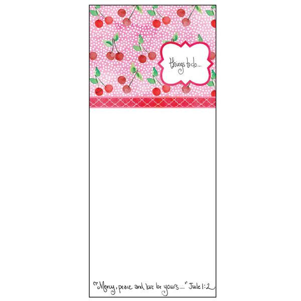 Pink Cherries Notepad