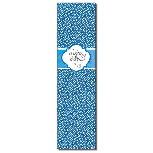 Alpha Delta Pi Bookmark