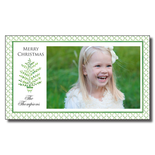 Green Trellis Cards