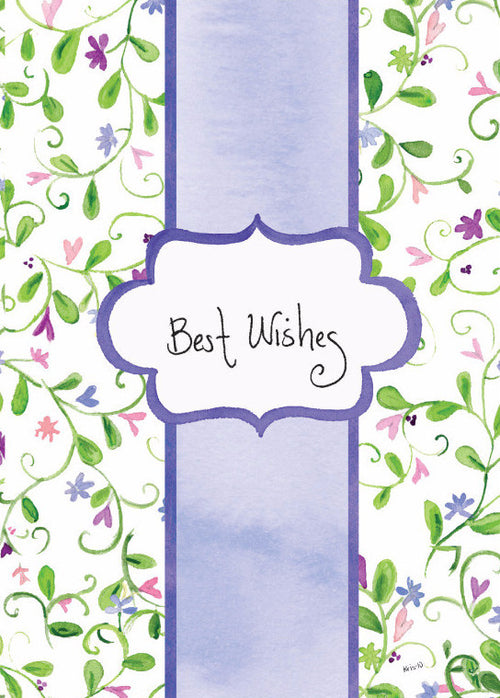 Best Wishes Purple Bridal (closeout)