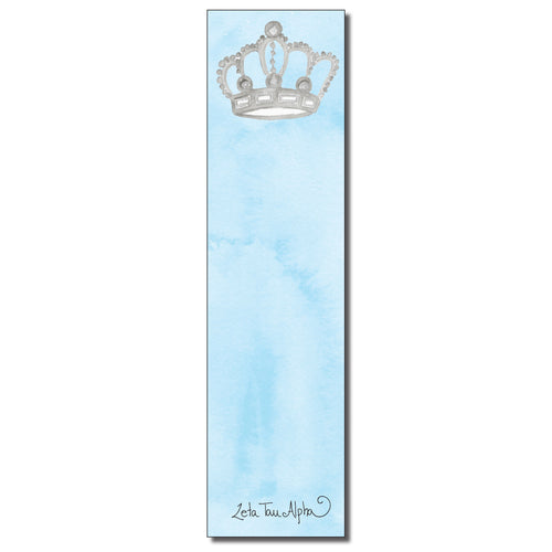 Zeta Tau Alpha Bookmark