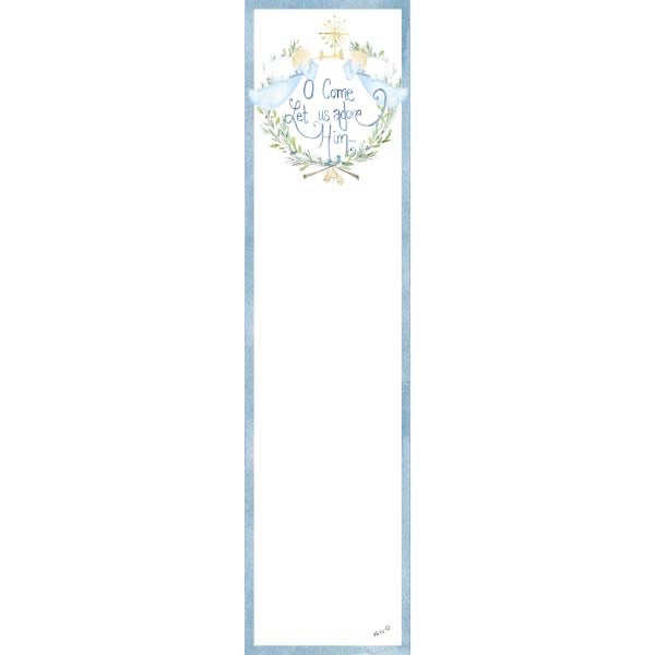10-Pack • O Come Let Us Adore Him Bookmarks