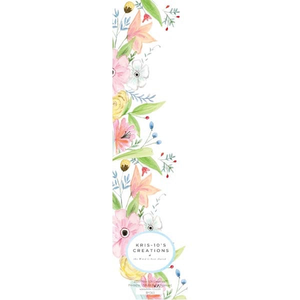 Hope & Peace Bookmark (unlaminated)
