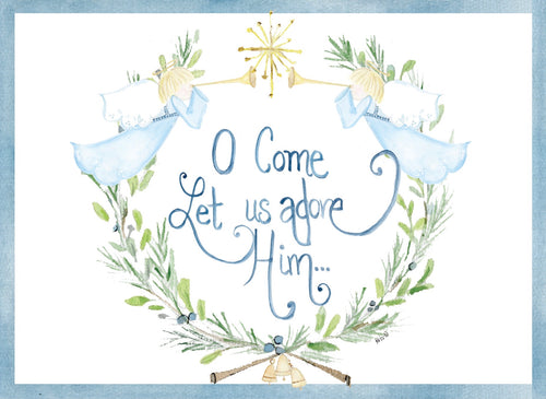 O Come Let Us Adore Him… Cards