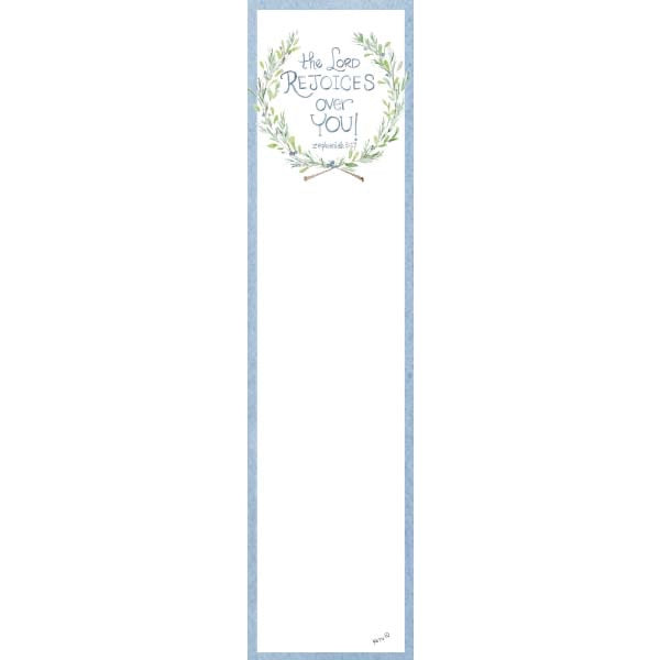The Lord Rejoices Wreath Bookmark