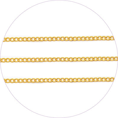 ageha Art Chain Gold 0.7mm