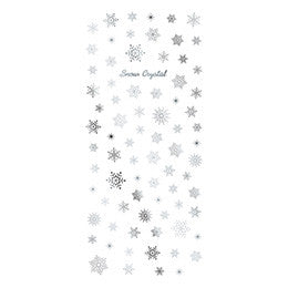 Tsumekira Snow Crystal Silver SG-YUK-101 (For Gel) [Seasonal]