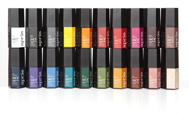 Aprés Aer Gel 20 Color Set (Warm & Cool Toned Colors) [NEW]