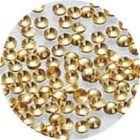 NLS Metal Dots Gold #2 (1mm) 200pcs