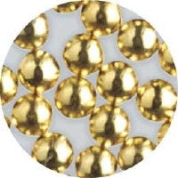 NLS Metal Dots Gold #5 (2mm) 200pcs