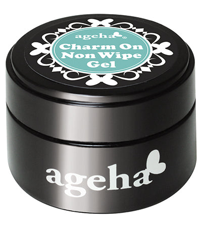 ageha Charm On Non-Wipe Gel [7.5g] [Jar]