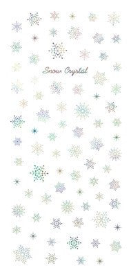 Tsumekira Snow Crystal Rainbow SG-YUK-103 [For Gel] [Seasonal]