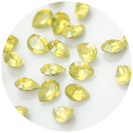 Nail Labo Fairy Stone V Cut Tear YELLOW OPAL [While Supplies Last]