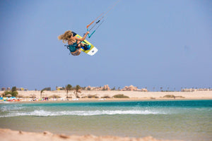 Colleen Carroll kiteboarder