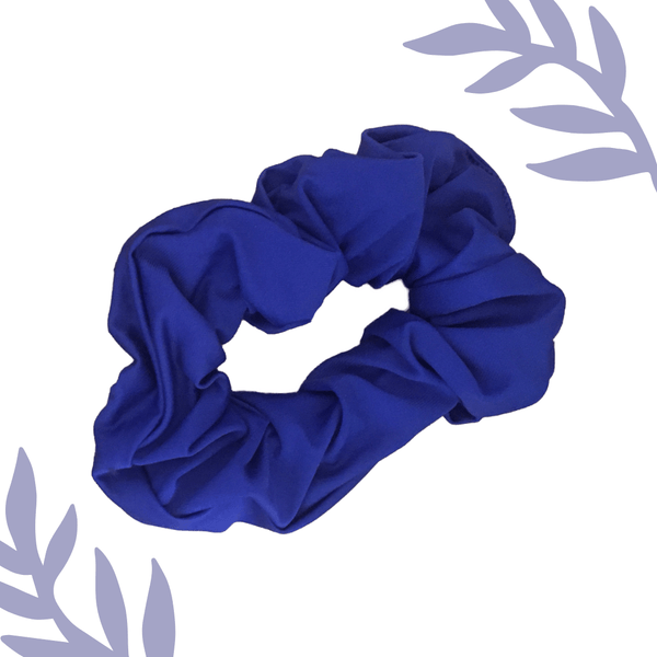 Recycled Scrunchie-Blue Accessories Sensi Graves Bikinis