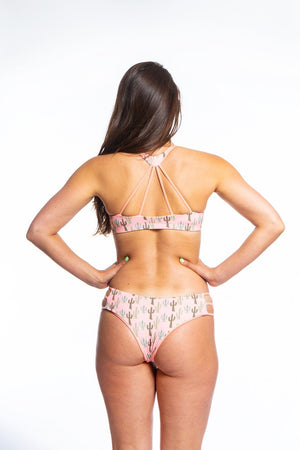 Kyla Bottom Sale Bikini Bottom Cheeky Sensi Graves Bikinis Prickly Pink / Grapefruit medium
