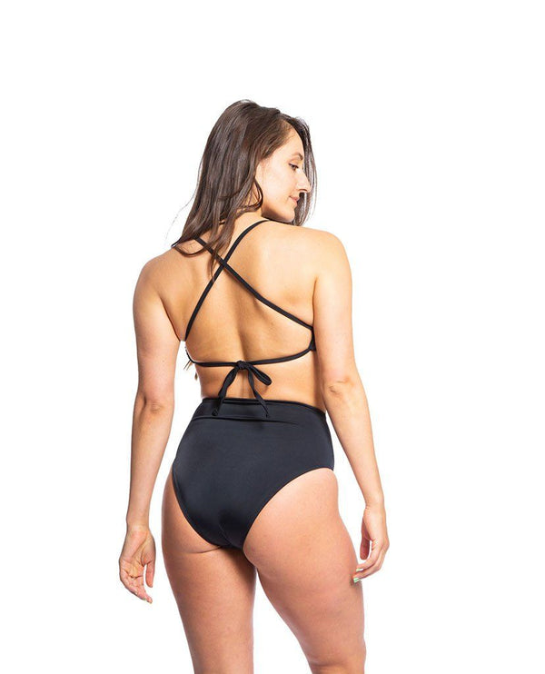 Nika Bottom Bikini Bottom Full Coverage Sensi Graves Bikinis x-small Black
