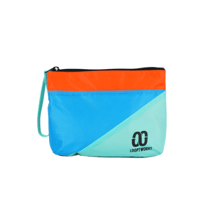 The Beach Comber Bag Accessories Sensi Graves Bikinis Surf - Blue/Orange