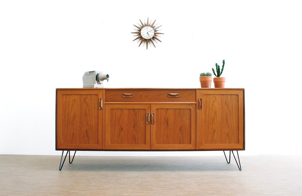 MID CENTURY CREDENZA BY VB WILKINS FOR G PLAN
