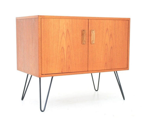 MID CENTURY TEAK CABINET / NIGHT STAND BY G PLAN - FREE SHIPPING