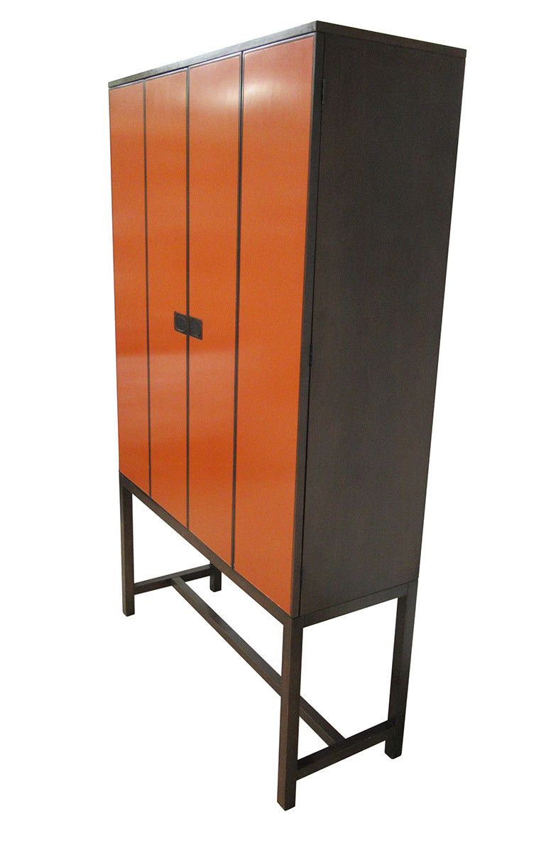 Mid Century Artist Cabinet by Johnson Furniture Co