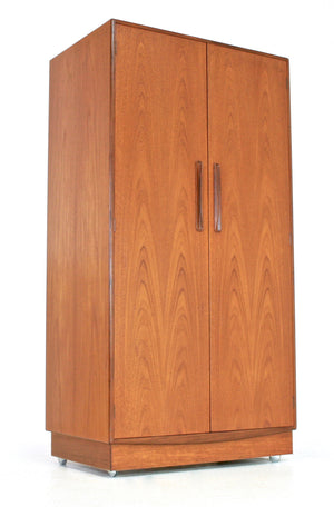 Mid Century Armorie/Wardrobe By V.B.Wilkins for G Plan