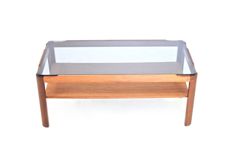 TRIO OF MID CENTURY COFFEE/END TABLES BY MYER OF LONDON