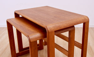 DANISH MODERN TEAK NEST OF TABLES