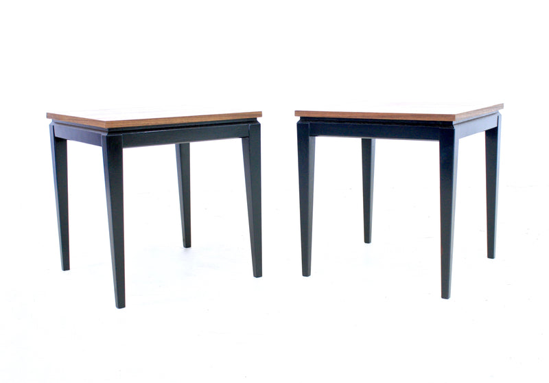 PAIR OF END TABLES/NIGHT STANDS BY LEGATE FURNITURE OF SCOTLAND - FREE SHIPPING
