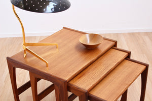 MID CENTURY NEST OF TABLES BY G PLAN
