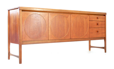 Mid Century Credenza By Nathan of West Yorkshire.