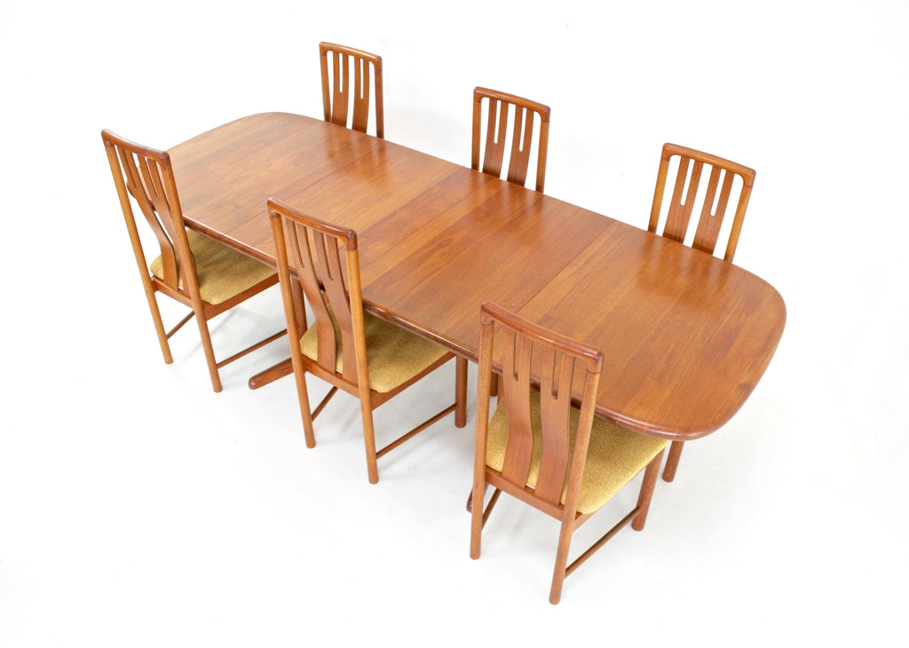 Mid Century Dining Set By Boltinge Stolefabrik of Denmark