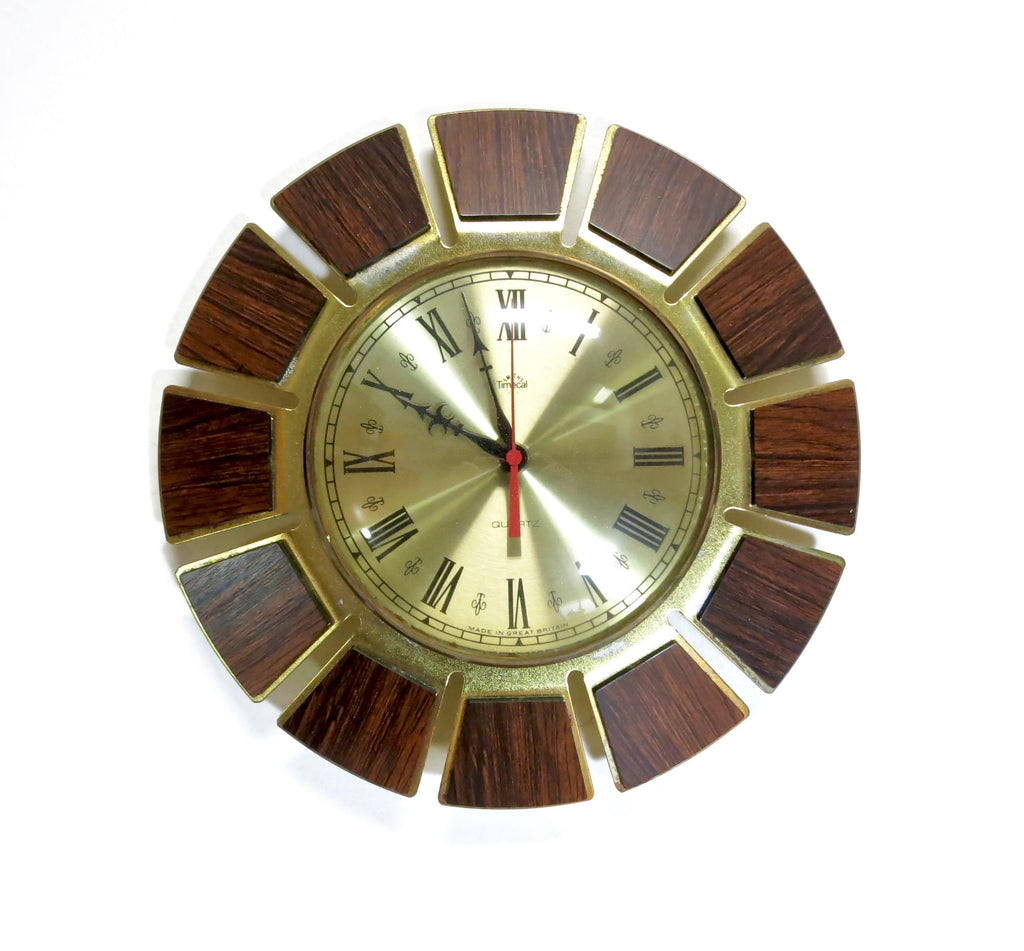 Mid Century Clock by Timecal of London....