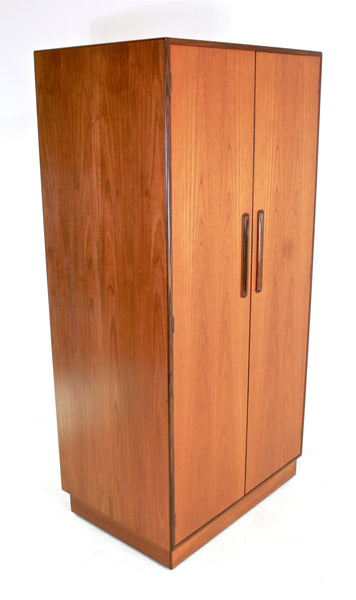 MID CENTURY ARMOIRE / WARDROBE BY V.B WILKINS