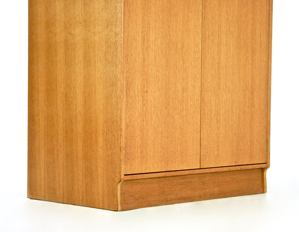 MID CENTURY 1950S ARMOIRE / WARDROBE BY E. GOMME