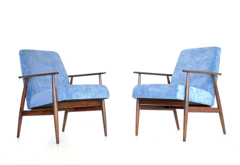 Mid Century Lounge Chairs by Dux Mobler Denmark