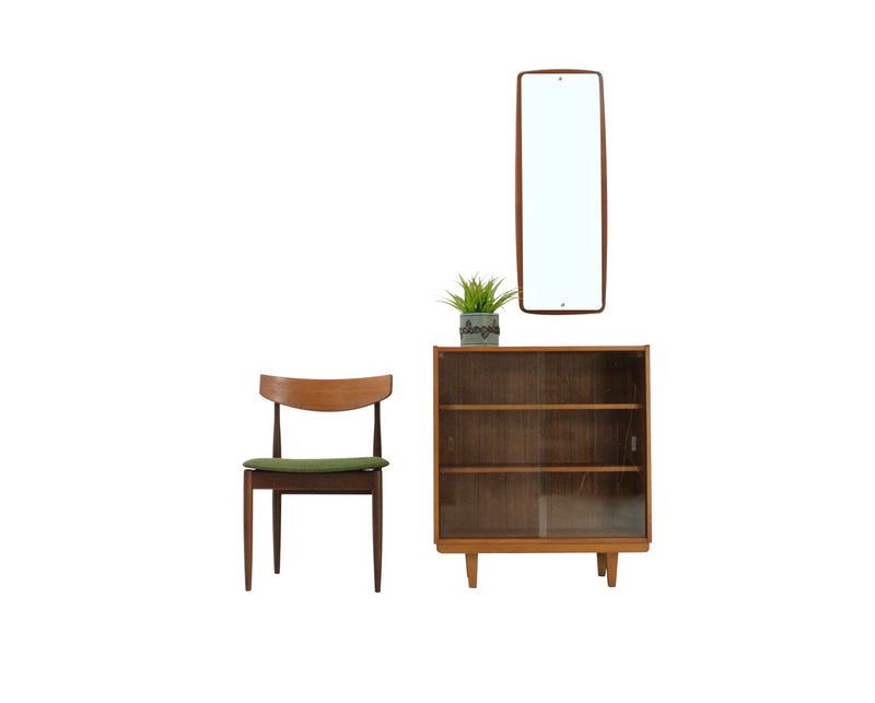Mid Century Entryway Cabinet And Mirror
