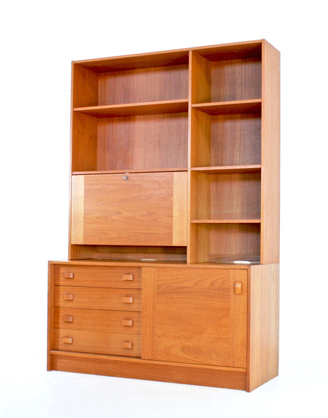 Mid Century Bookcase By Domino Mobler of Denmark.