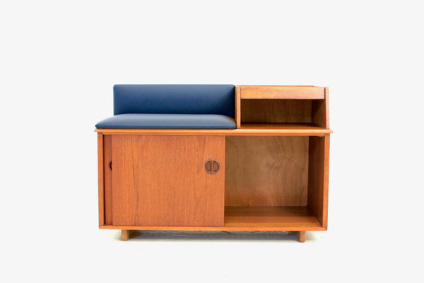 Mid Century Telephone Table By 'Chippy  Heath Furniture Ltd'