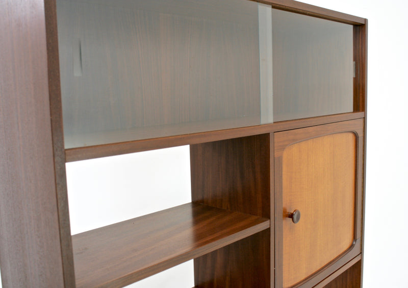 Mid Century Display Cabinet/Room divider by Stonehill of London