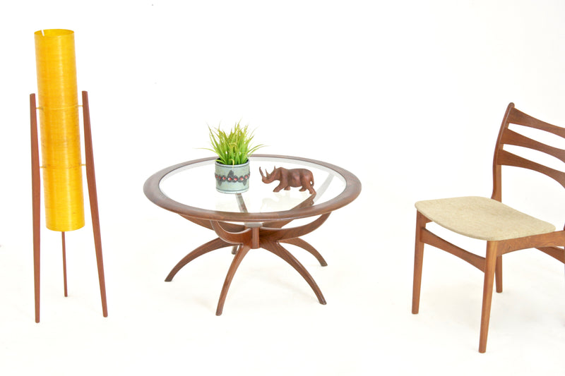 Mid Century Spider Table by V.B.Wilkins