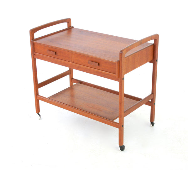 MID CENTURY DANISH BAR/DRINKS CART