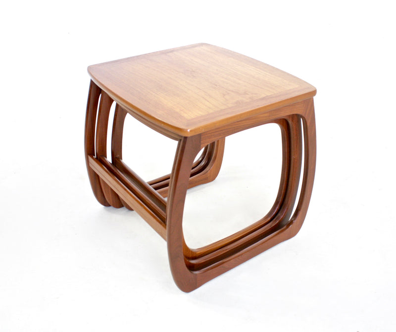 Mid Century Nest Of Tables by Nathan Furniture