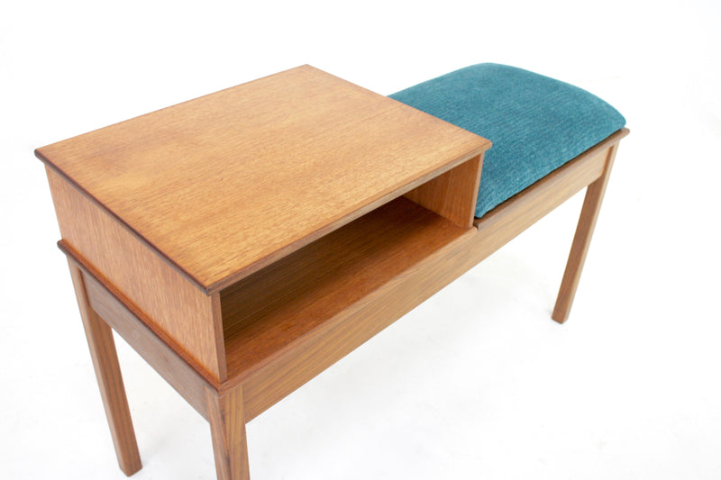 Mid Century Telephone Table Danish
